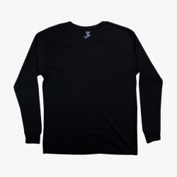 IBS MENS FITTED THERMAL LONG SLEEVE T SHIRT V NECK