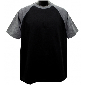 IBS RAGLAN T SHIRT MENS SHORT SLEEVE